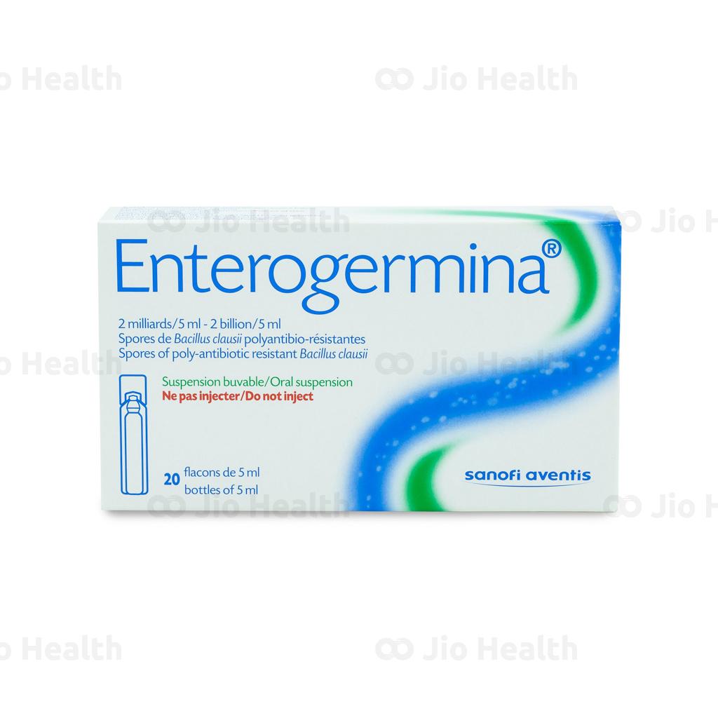 Thuốc hỗ trợ tiêu hóa Enterogermina 5ml