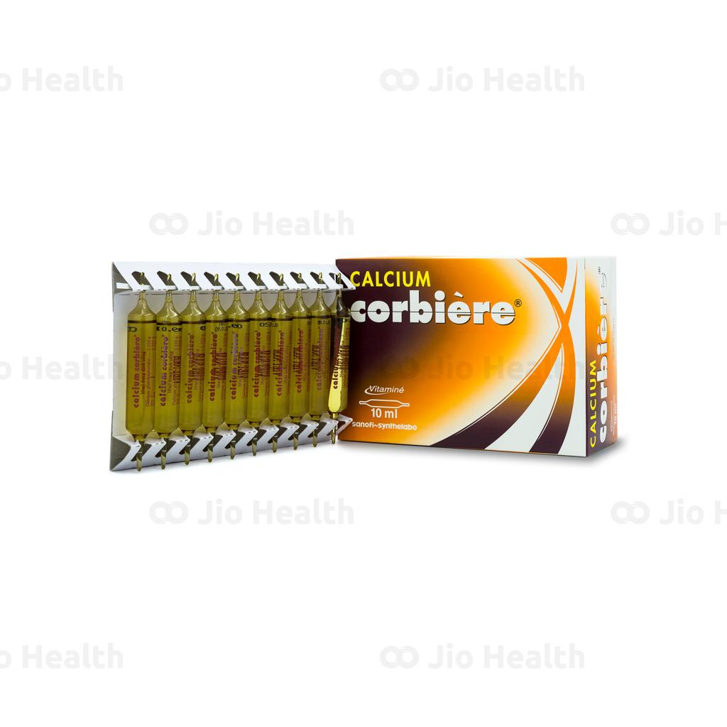 Thuốc bổ xương Calcium Corbiere 10ml
